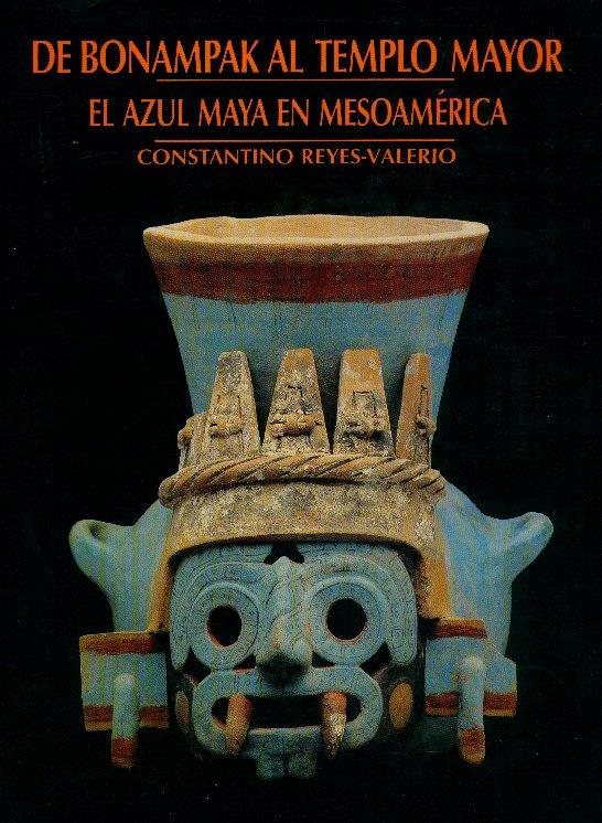 Portada Libro Azul Maya